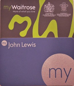 My Waitrose and My John Lewis Store Cards