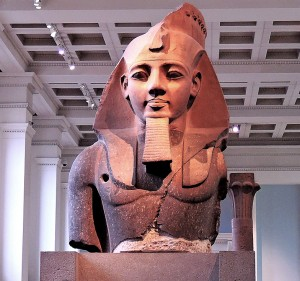 Kind Ramesses II about 1279-1213 BC